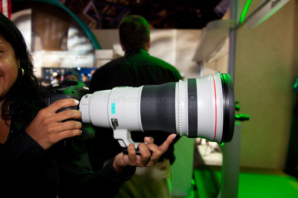 Hands On Canon 400mm F 2 8 L Is Usm Ii And 300mm F 2 8 L
