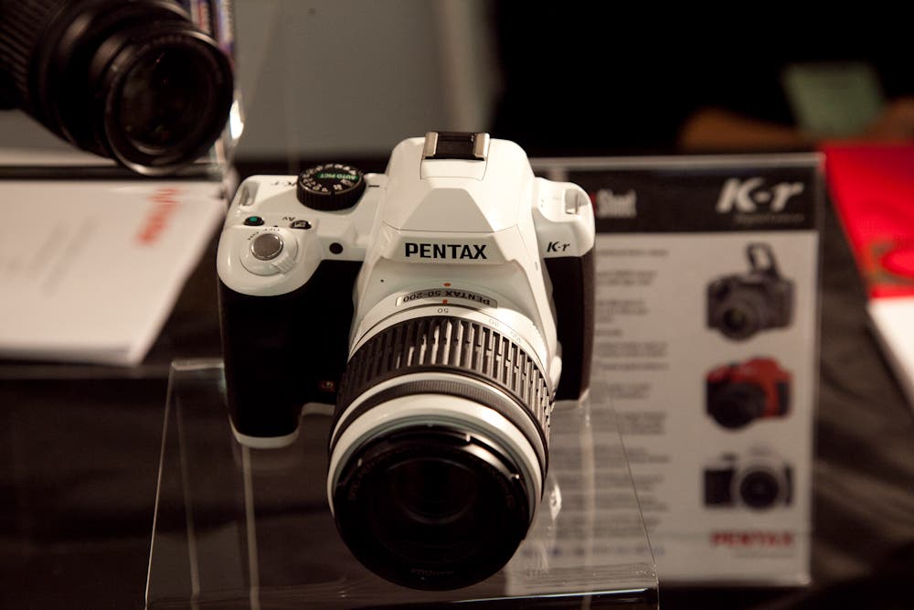 Hands-On: Pentax K-r