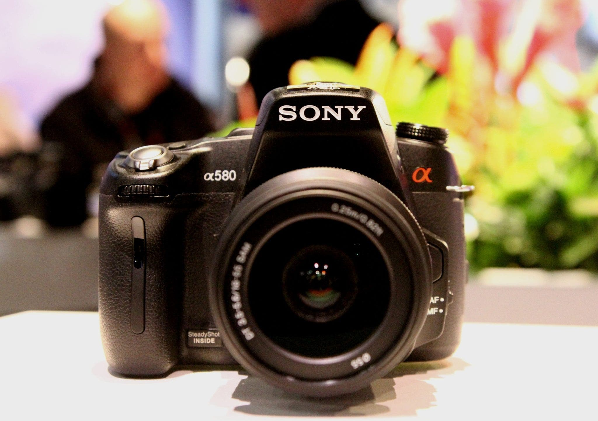 Hands-on with the Sony a580