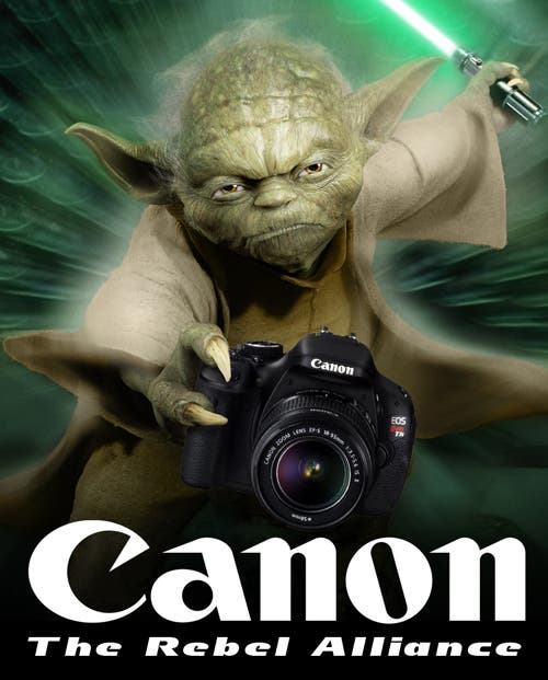 Which One Are You: Canon or Nikon (Epic Star Wars Battle)