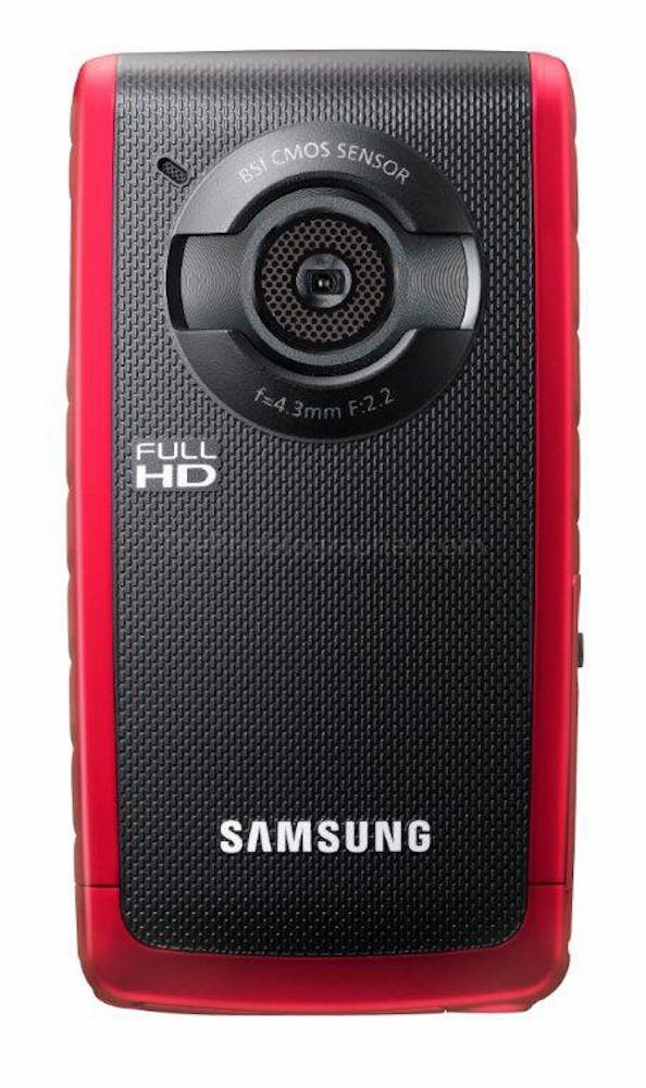 With the Flip Dead, Samsung Announces W200 Camcorder