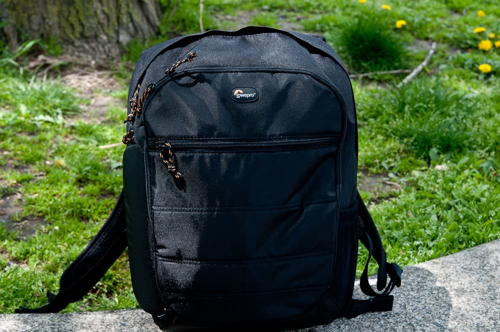 Review: The Lowepro CompuDay 250 backpack
