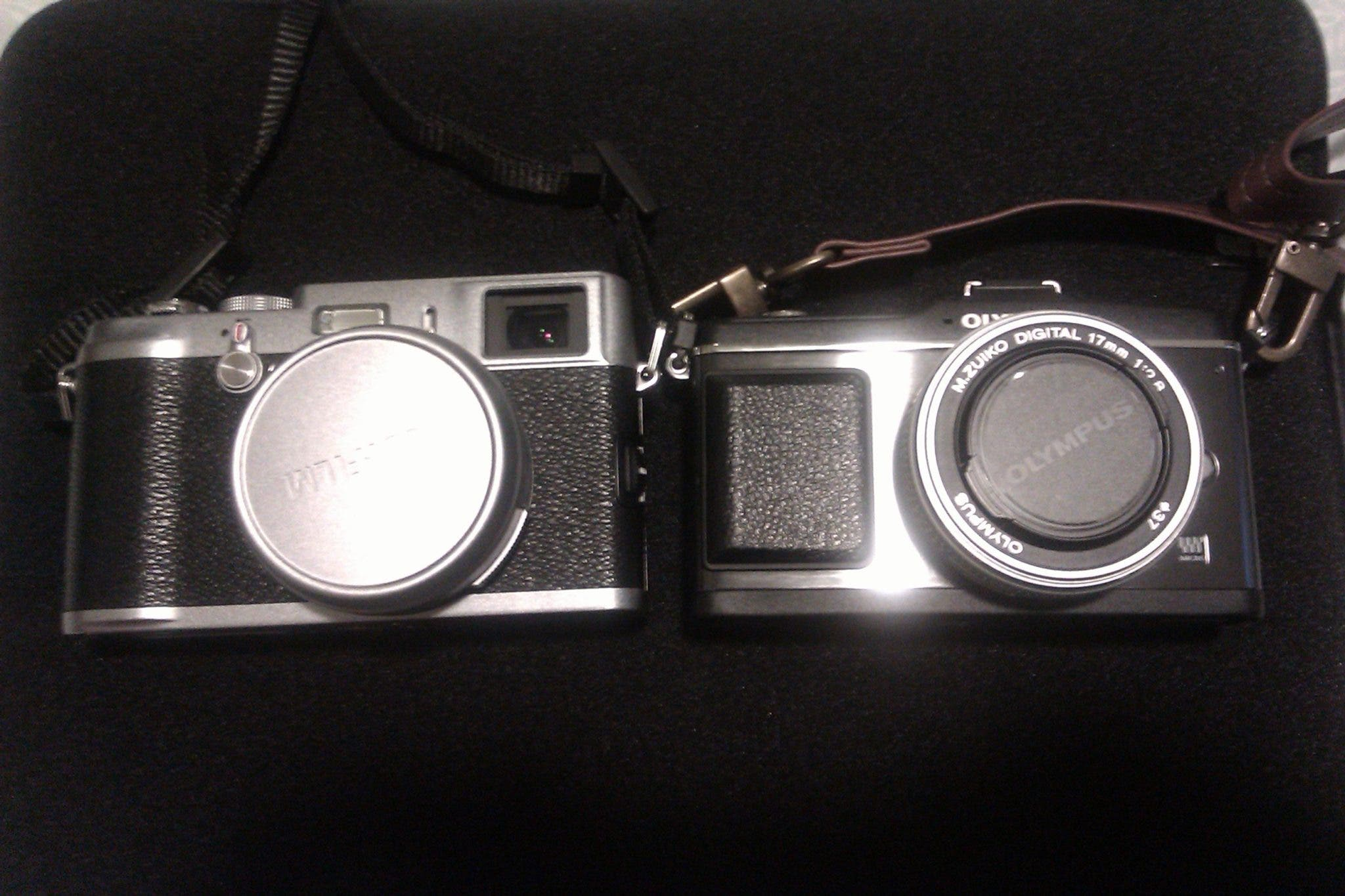 Olympus EP-2 or FujiFilm X100: Which Photo is Which?