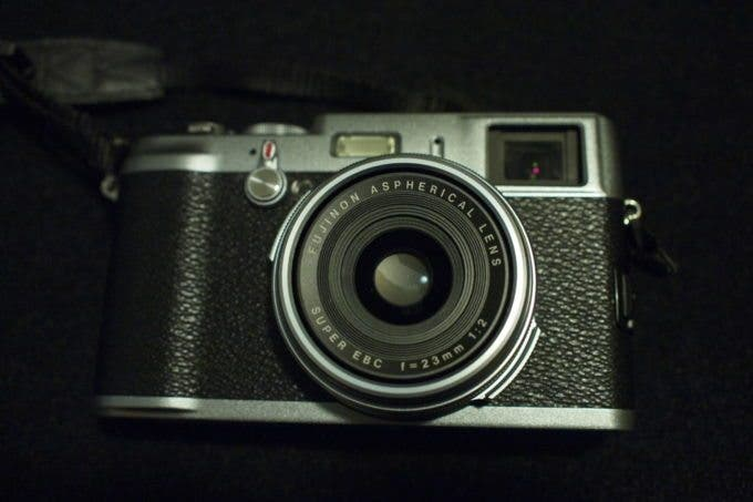 Innovative cameras -Fujifilm X100