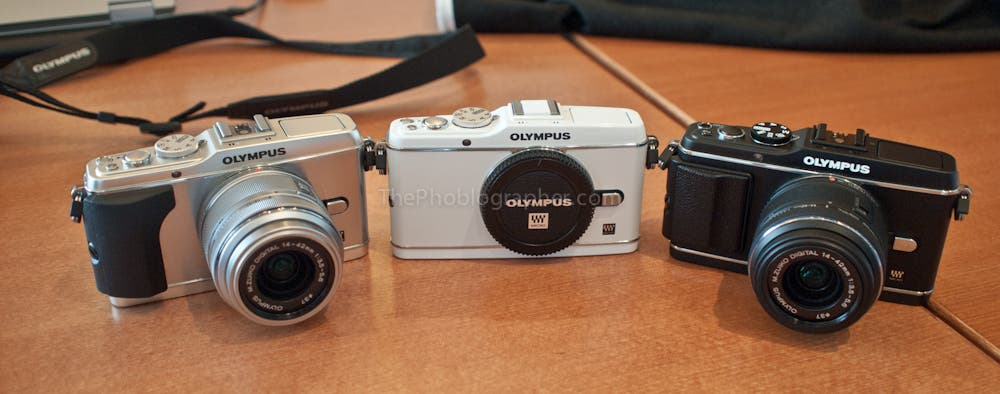 Which One: Olympus EP-3, EPL-3 or Pen Mini?