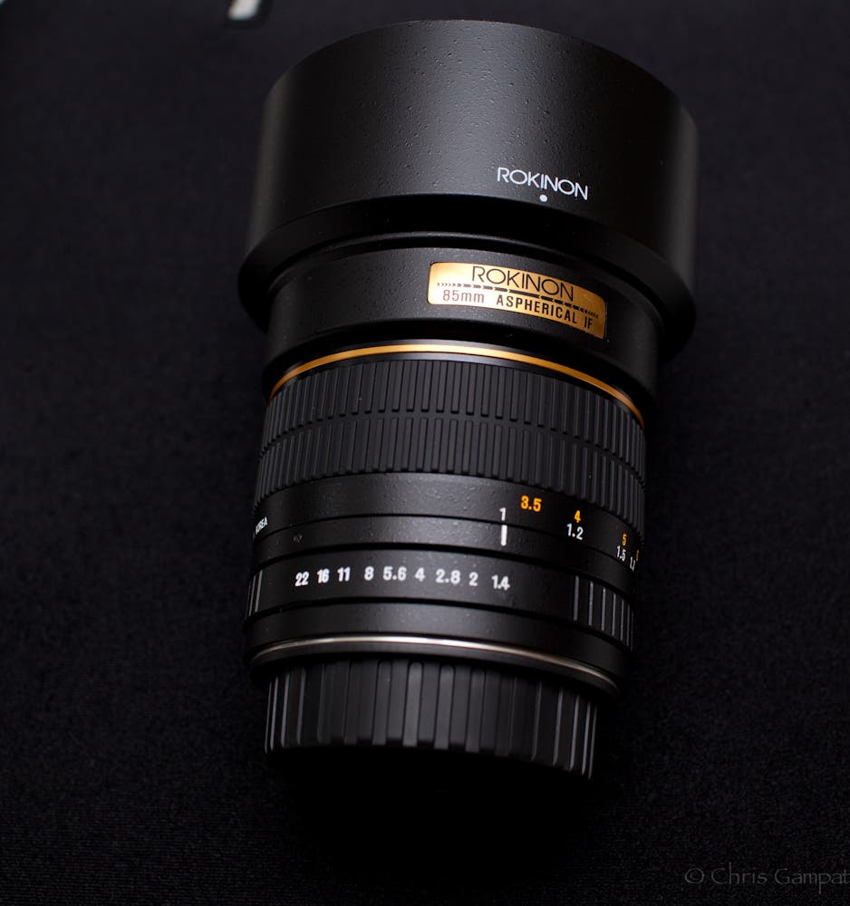 All Will Be Well, It's Just a Portrait: Enter to Win a Rokinon 85mm f1.4 Lens