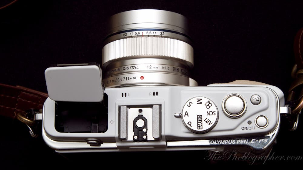 The top of the Olympus EP-31000