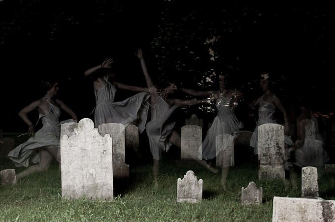 Ghosts Of Stroud Cemetary