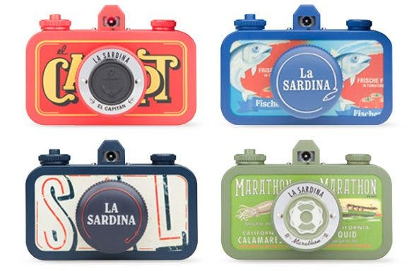 Tweaking My Lomography La Sardina-A Photography Hacker's Solution