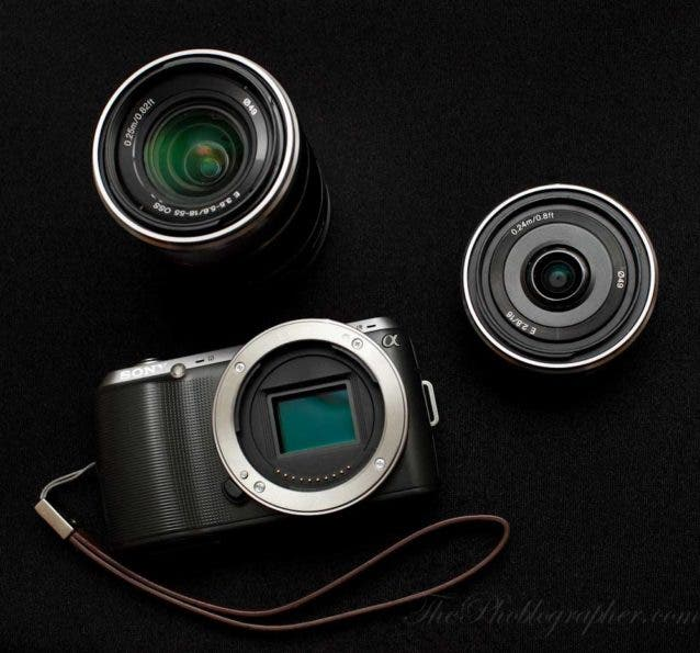 Chris Gampat The Phoblographer Sony NEX C3 review product photos (5 of 7)