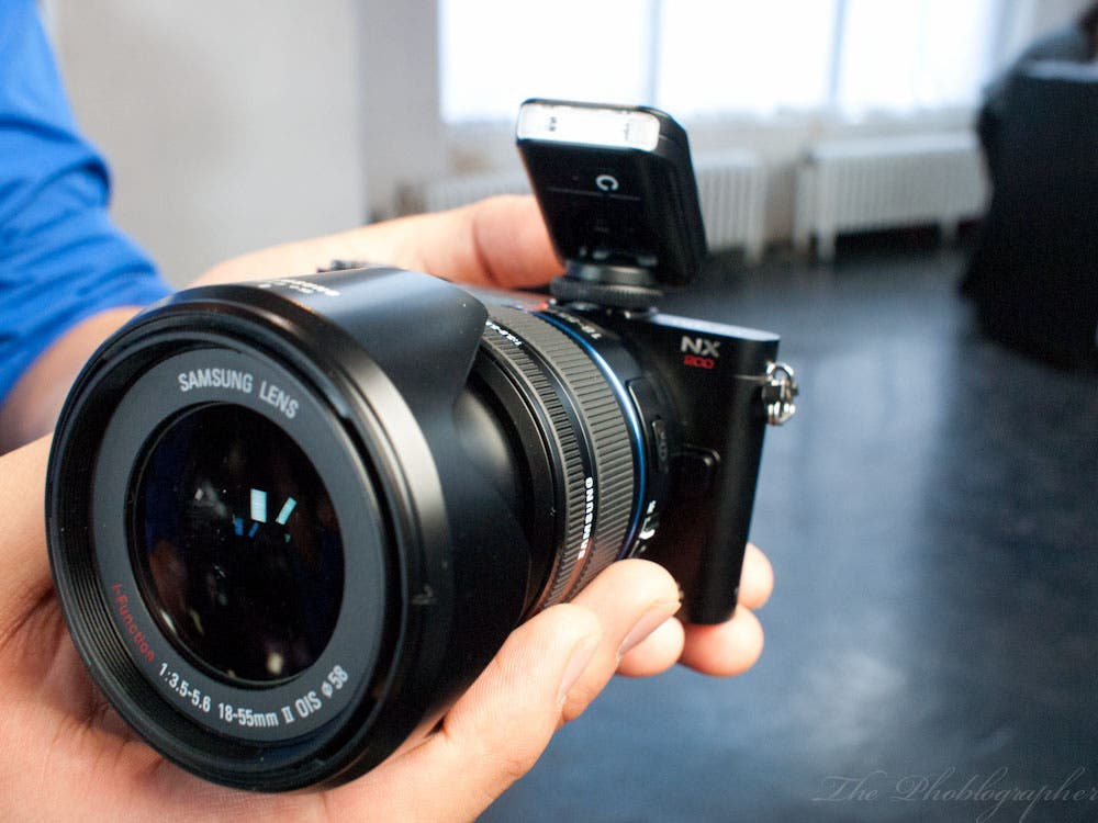 Hands On Review: Samsung NX200 and 85mm f1.4