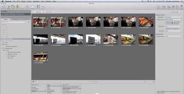 Apple Aperture 3: Importing & Managing Images