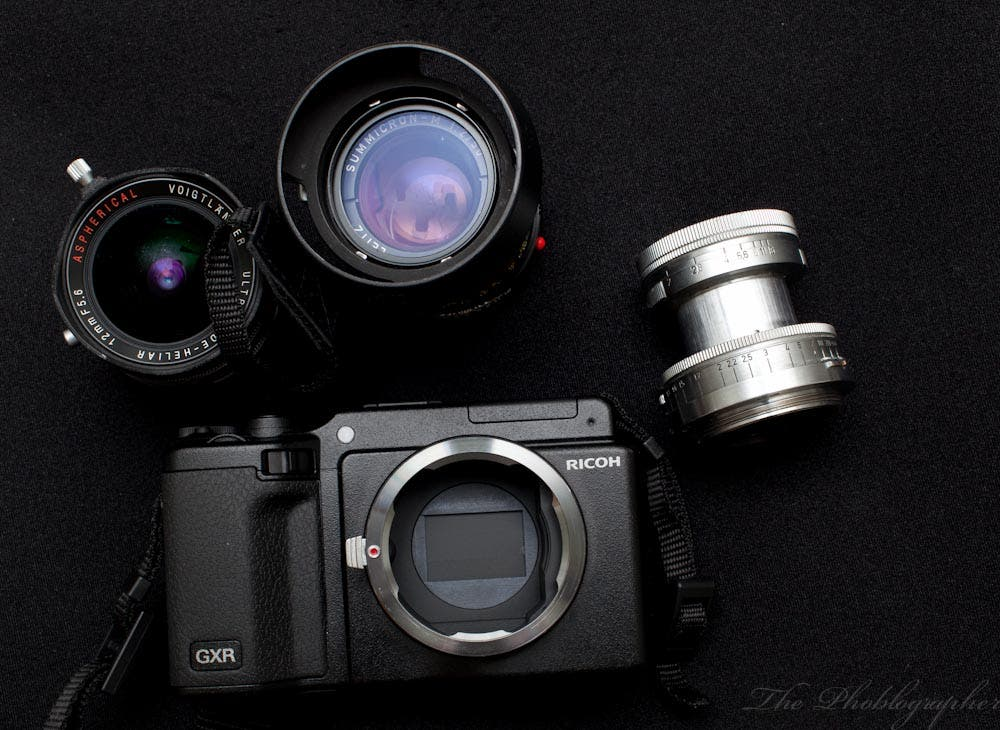 Review: Ricoh GXR with A12 Leica M Mount Module
