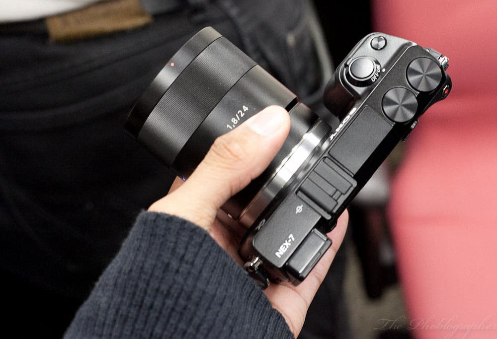 Hands On: Sony NEX 7