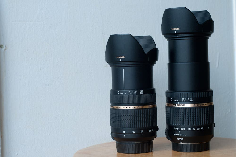 28-75mm (L) with 18-270mm extended