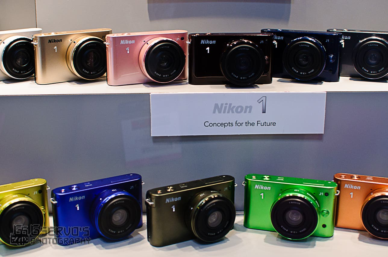 Hands on with the Nikon 1: J1 & V1