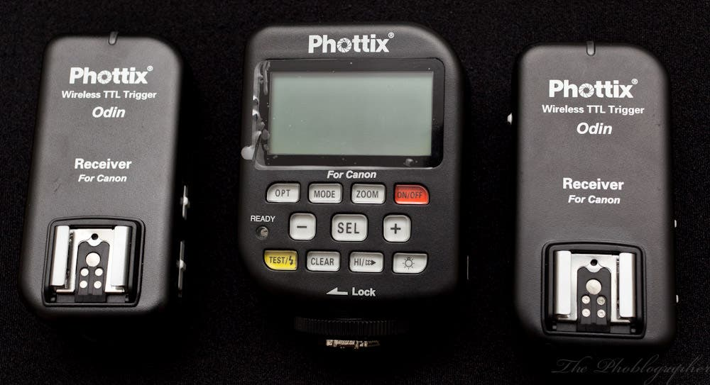 New Phottix Odin Firmware Update Lets You Adjust Exposure Settings in 1/3rds of a Stop