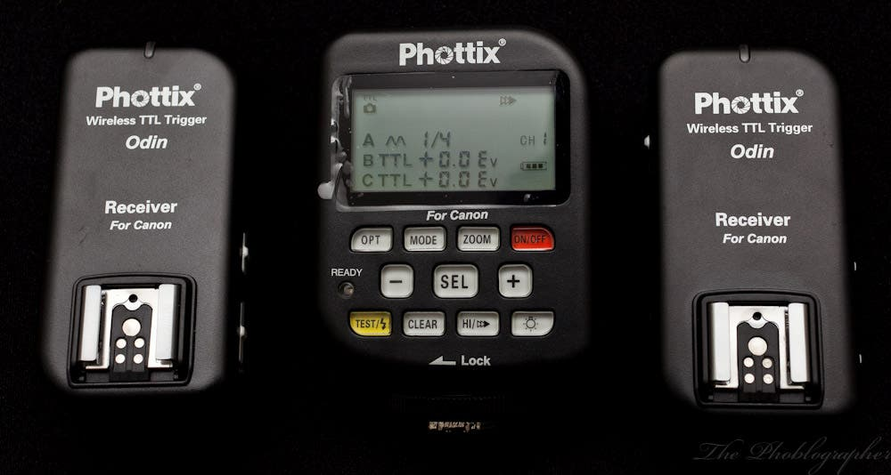 Review: Phottix Odin TTL Wireless Radio Triggers for Canon DSLRs