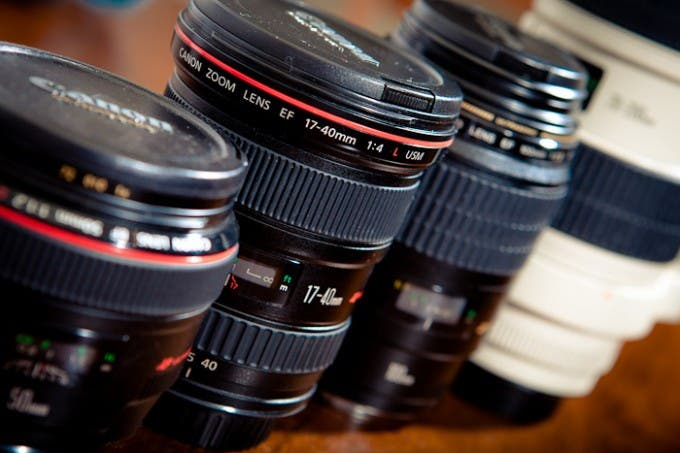 Canon Lens Upgrade Path