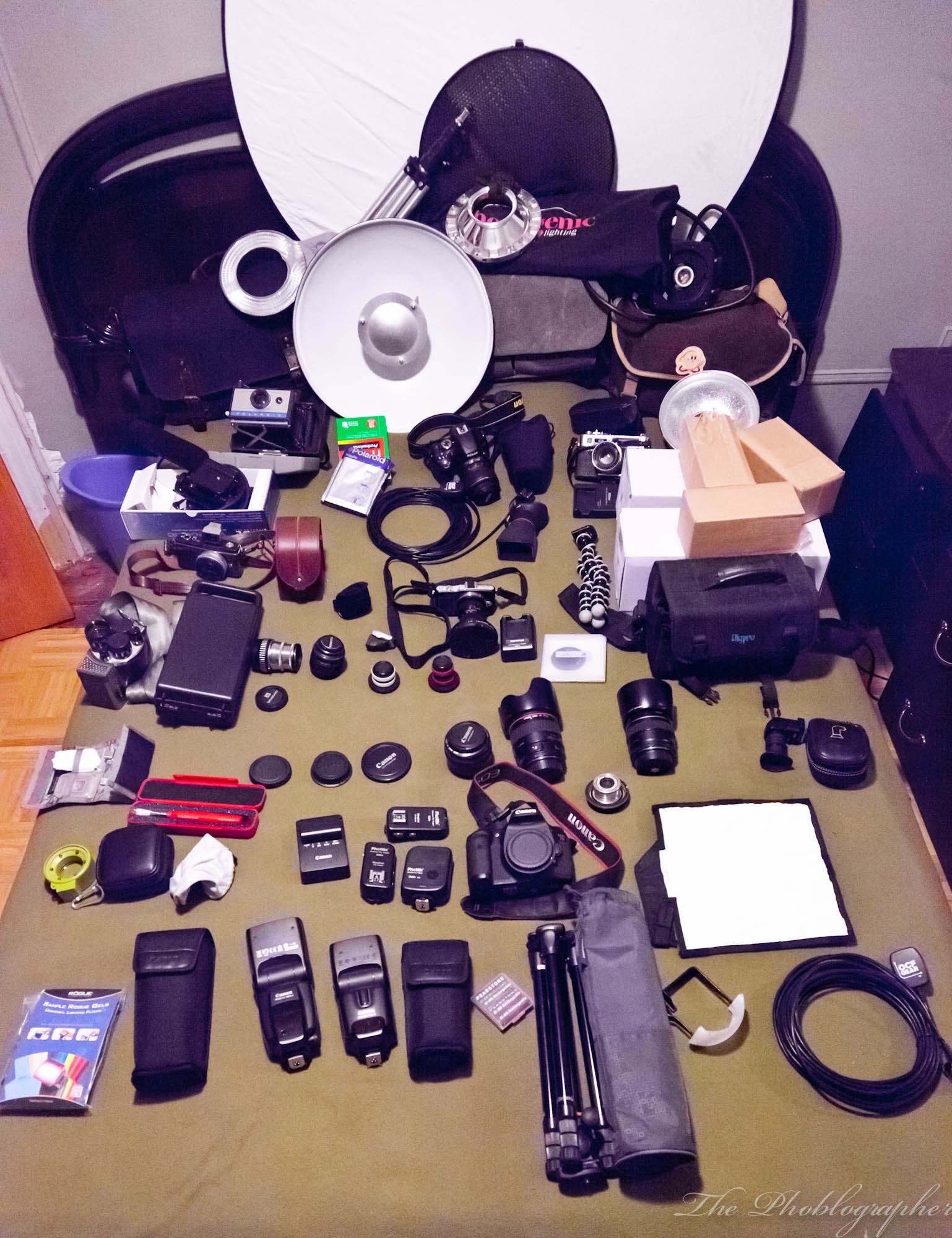 What's in My Camera Bag?: Editor in Chief Chris Gampat