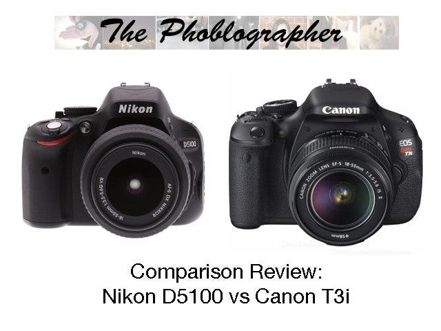 Long Term Comparison Review: Nikon D5100 vs Canon T3i