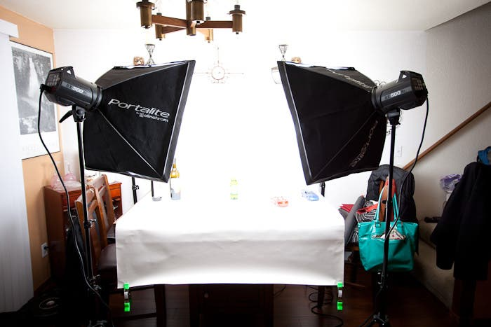 Product Photography Setup