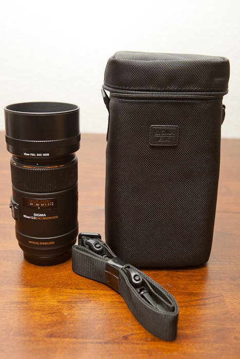 Lens And Case