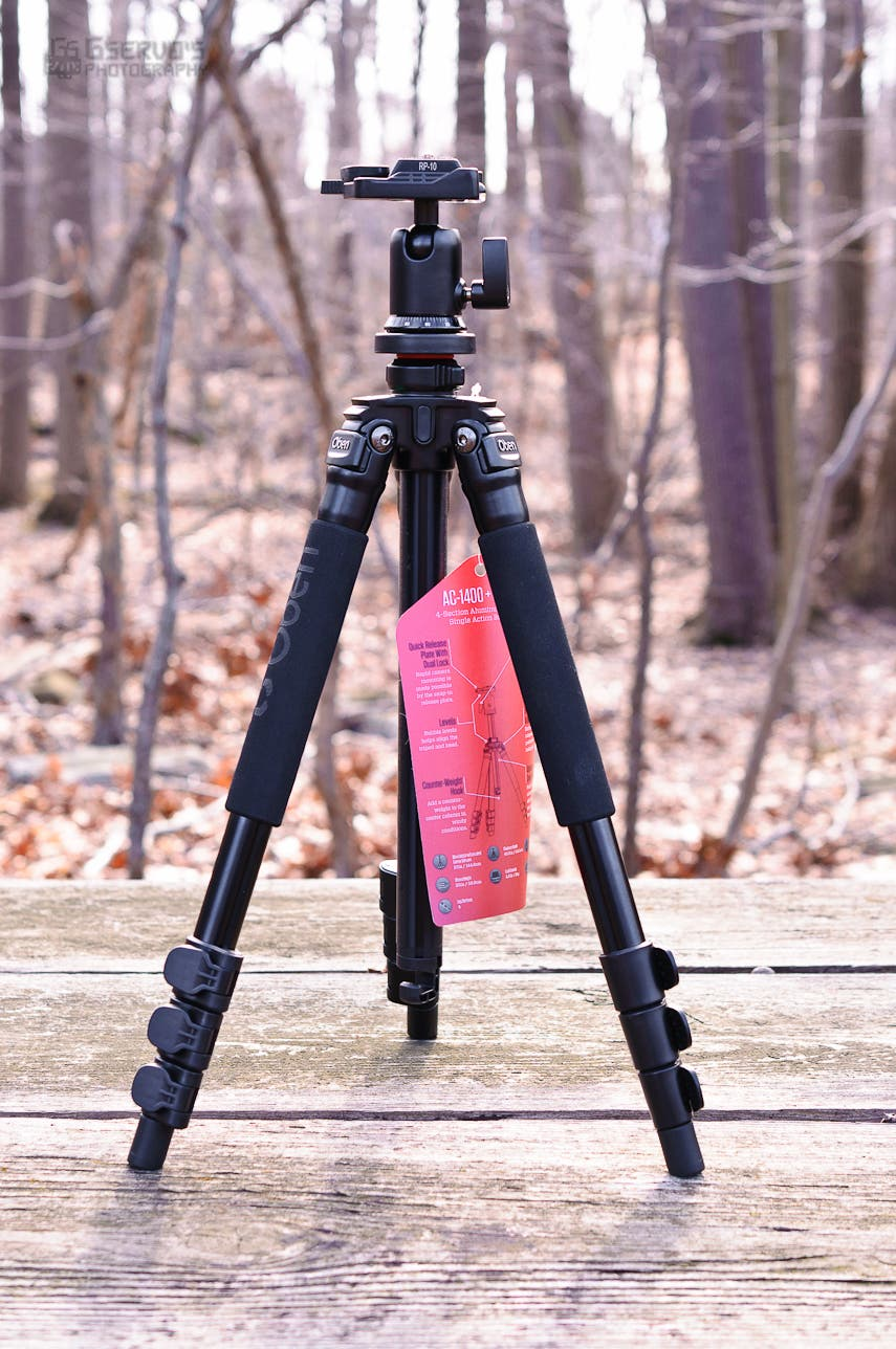 Review: Oben AC-1400 4-Section Aluminum Tripod with BA-00 Ball Head