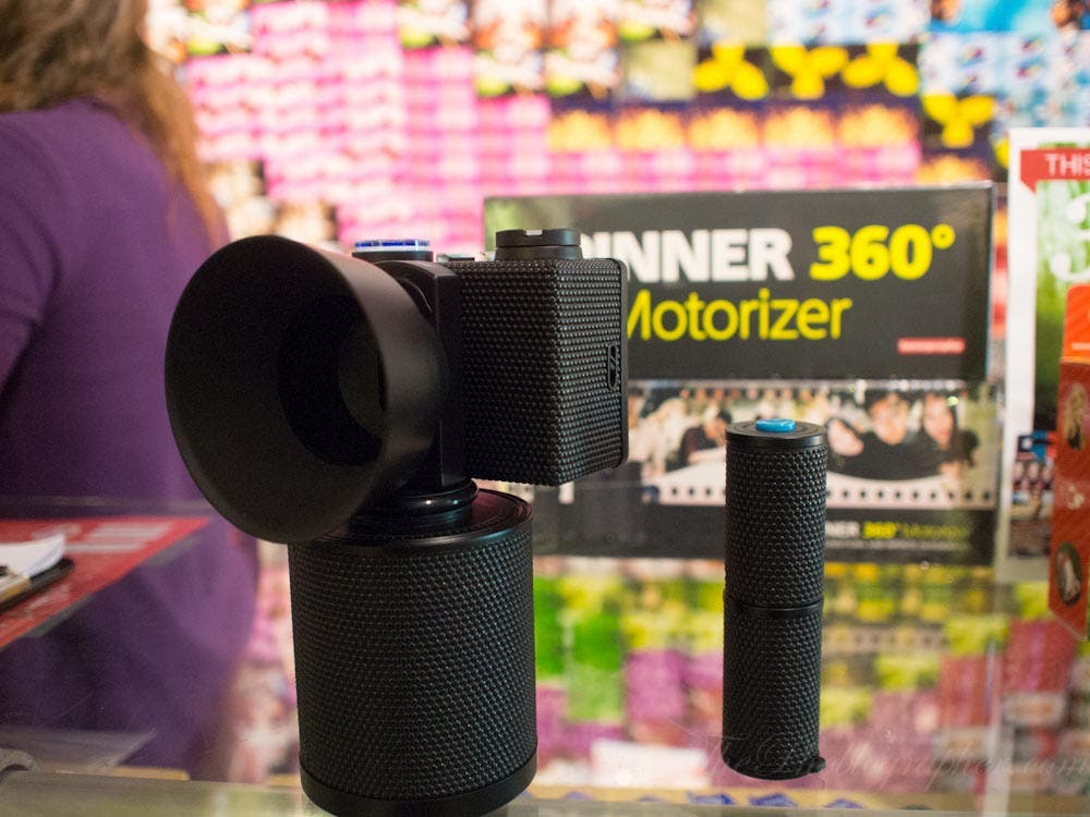 Lomography Spinner 360 Motorizer Was Probably Designed With That 70's Show in Mind