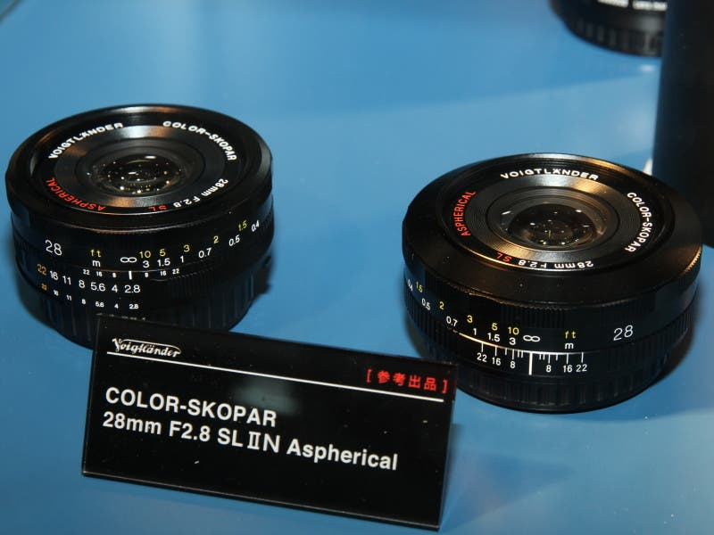 Cosina Announces New SL II N Lenses At CP+
