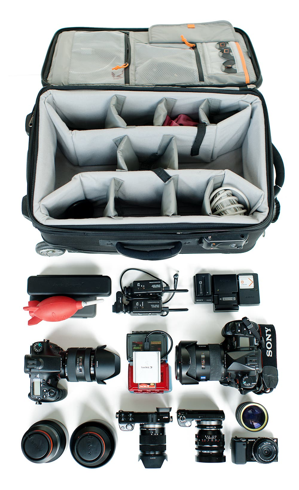 What's In the Bag? Sony Artisan Brian Smith