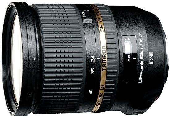 Tamron Announces 24-70mm f/2.8 Full-frame Standard Zoom for Nikon, Canon and Sony