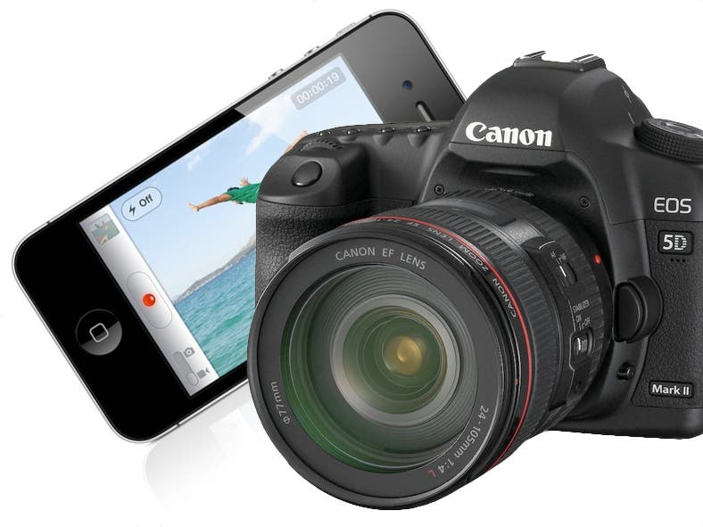 Canon 5D Mk II Outdoes iPhone 4 on Flickr (For a Little While at Least)