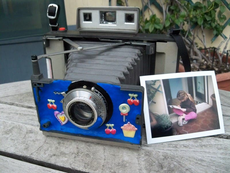 Cool Hack: Polaroid + Kodak Lens + Sugru = One Suped Up Polaroid Camera