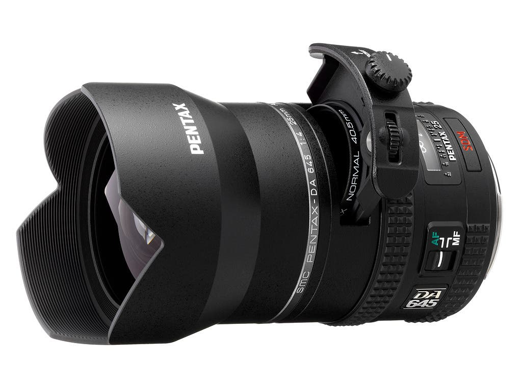 Pentax Introduces New 25mm f4 Wide-Angle Lens For Its 645 System