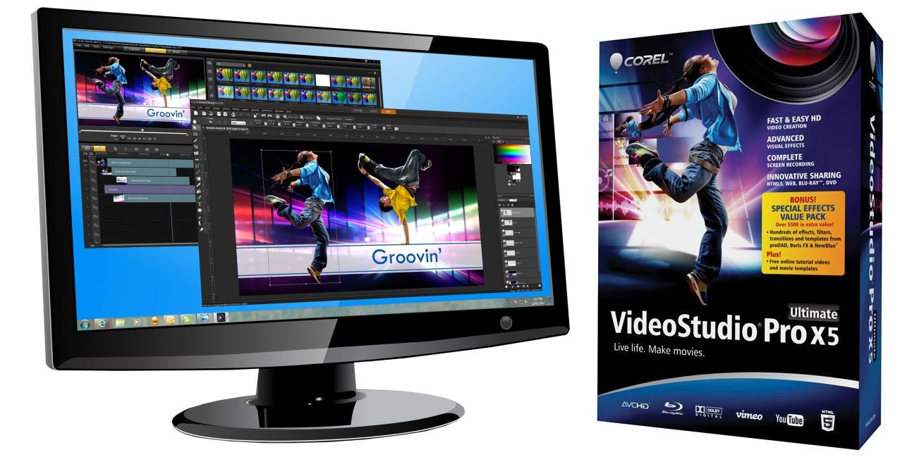 Corel Introduces VideoStudio Pro X5, Adds HTML5 And 50p/60p ...