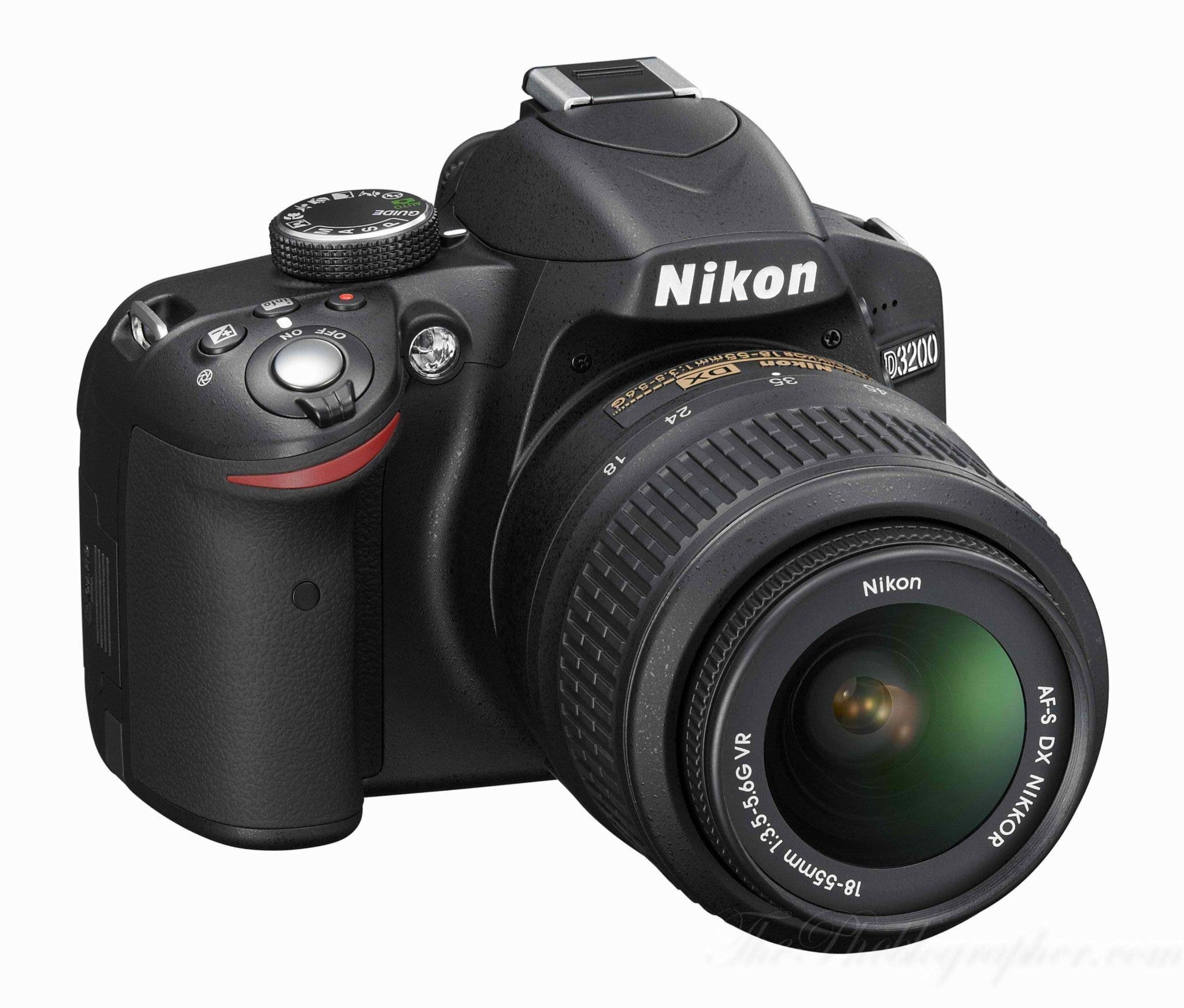 Nikon's Worst Kept Secret Finally Becomes Official: D3200 and 28mm f1.8 Announced