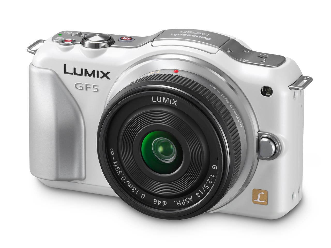 Panasonic's Freshly Announced Lumix GF5 Comes To Grips (Literally)