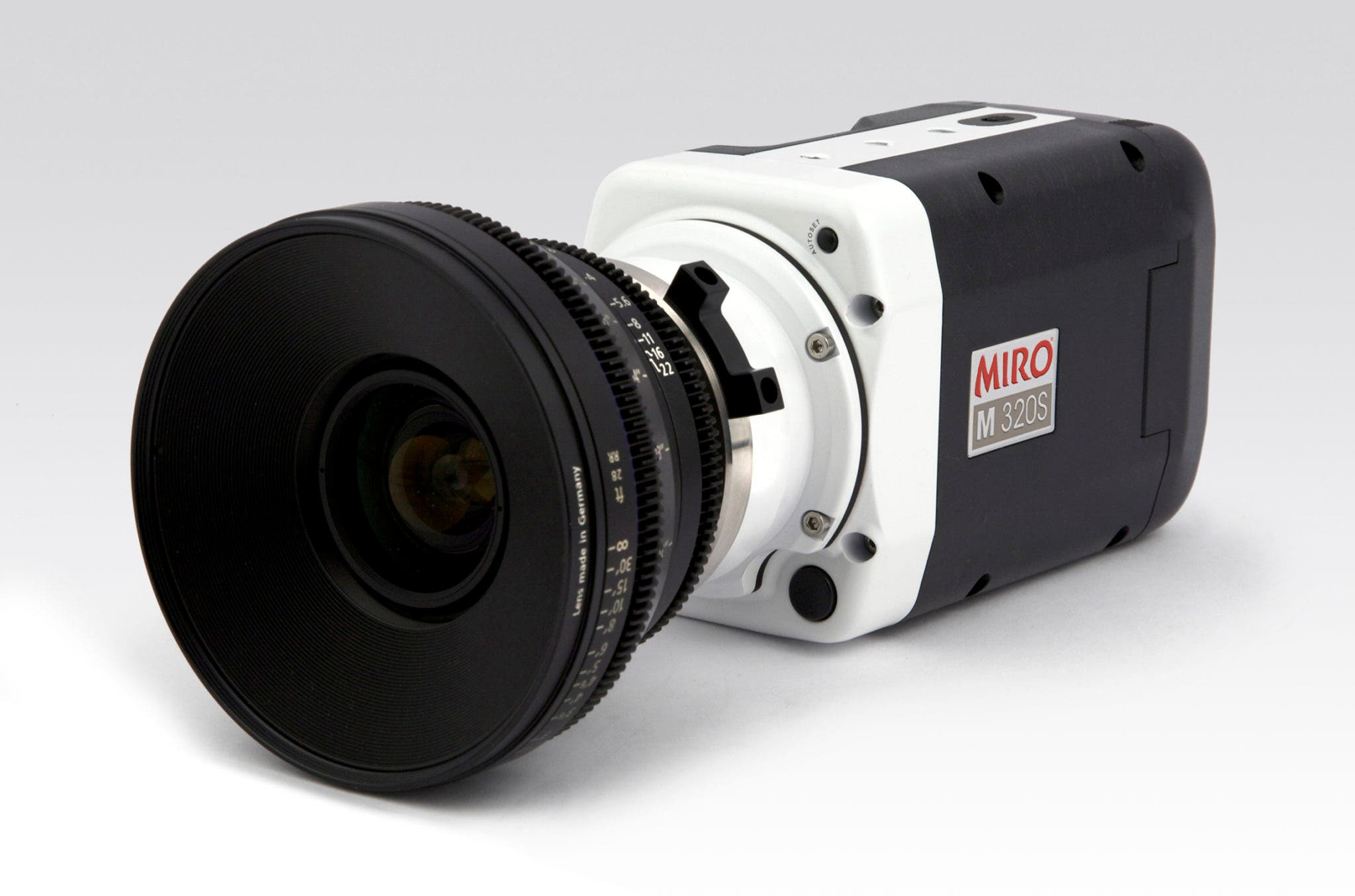 Another High-Speed Camera From Vision Research: The Phantom Miro M320S