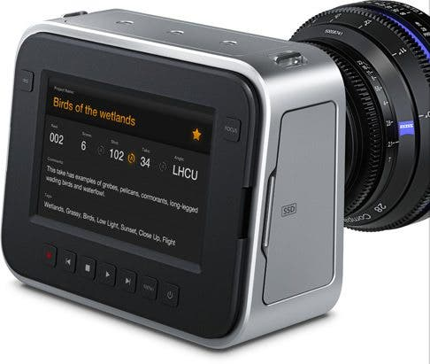 Cheap Photo: BlackMagic Cinema Camera and Handle Available for Pre Order