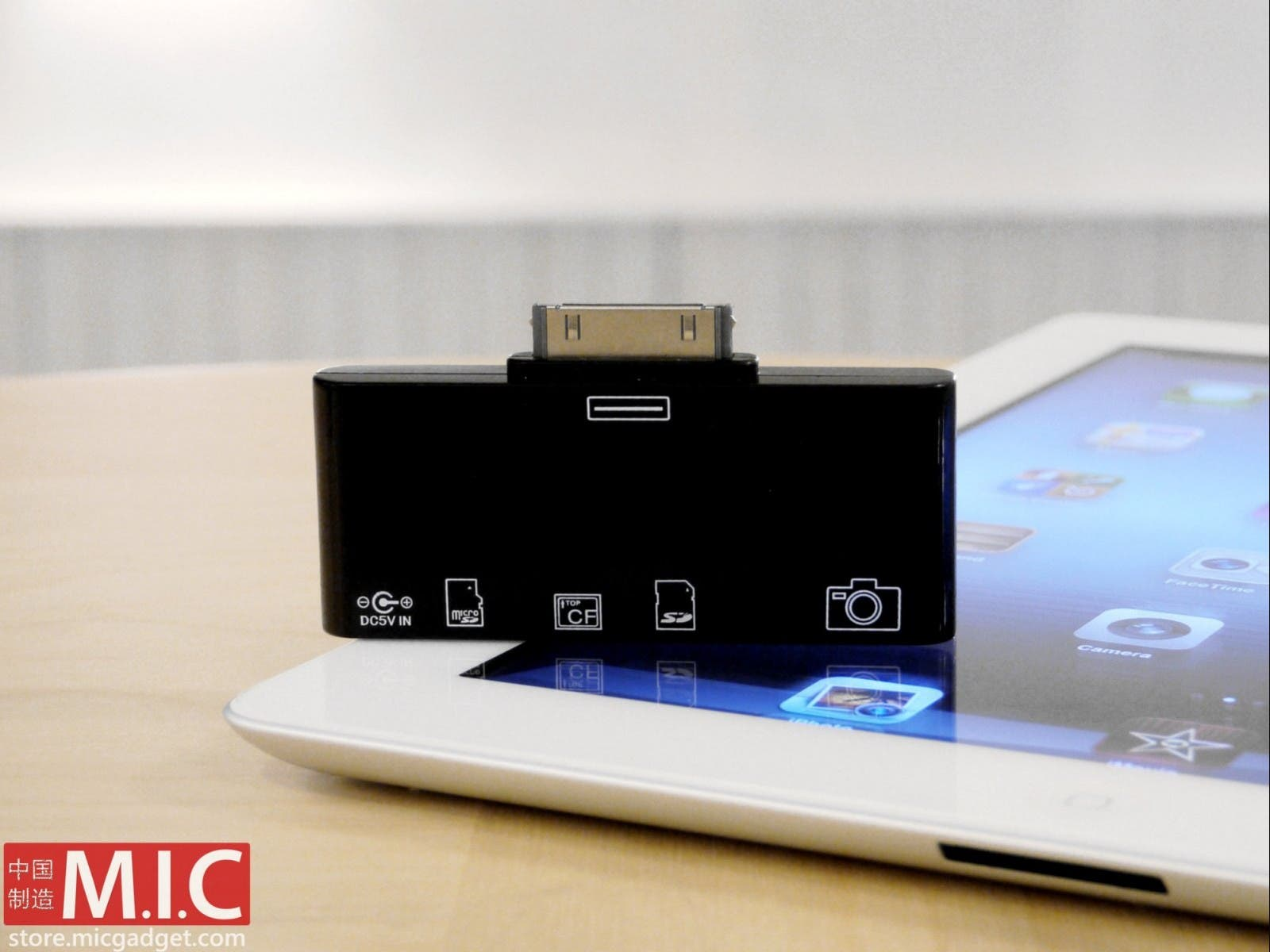 M.I.C. Gadget Introduces First All-in-one Card Reader For iPad