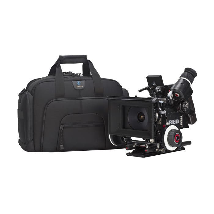 Tenba's New Roadie II Camera Bags Can Hold the RED Scarlett and Canon C300; Break Your Back