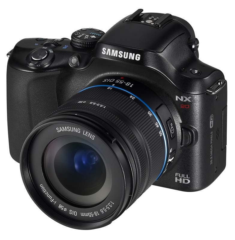 Samsung Gives NX Series Complete Overhaul With NX20, NX210