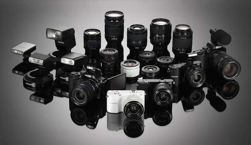 Samsung Gives NX Series Complete Overhaul With NX20, NX210 And NX1000