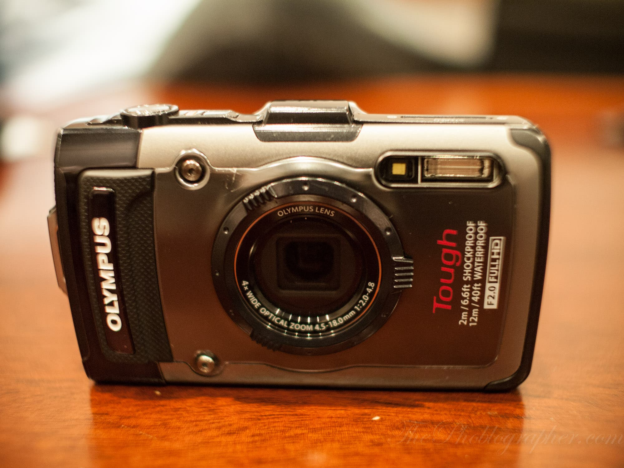 Olympus's New Olympus TG-1 Tough Camera Won't Leak As Much as This Camera Was Across the Net