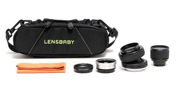 Lensbaby Pro Effects Kit Comes With Everything You Need