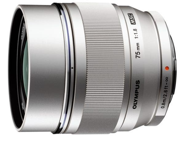 The New Olympus 75mm f1.8 That Was Actually Announced a While Back is Available for Pre-Order