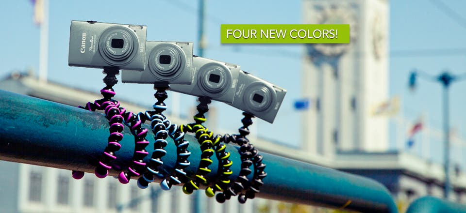 Joby's Latest Gorillapods Can Hang With all the Stylish Clothing on Your Closet Rack
