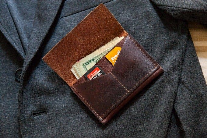Chris Gampat The Phoblographer HoldFast Gear Indispensible Wallet American Buffalo (4 of 5)