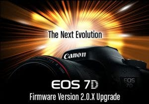 Canon 7D Firmware Upgrade 2.0